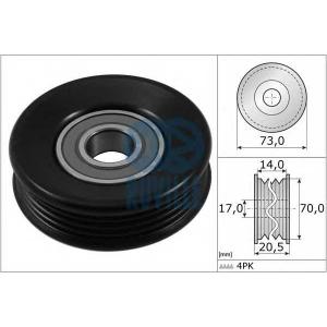 RUVILLE 56985 Натяжной ролик, поликлиновой  ремень
