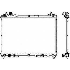 SAKURA 3431-8501 Радиатор системы охлаждения Grand Vitara 06->