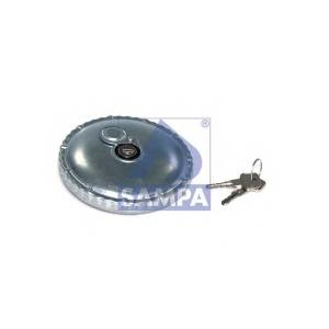 SAMPA 096.026 крышка топливного бака (D=80мм) с замком, гальвани