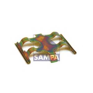 SAMPA 100.135 Кронштейн, колодки диского тормоза