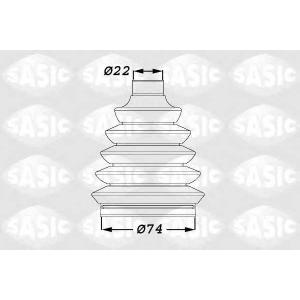 SASIC 1900011 Пыльник ШРУСа (1900011) Sasic