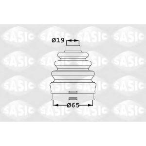 SASIC 1906007 Комплект пылника, приводной вал