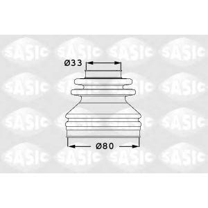 SASIC 1906031 Half Shaft Boot Kit