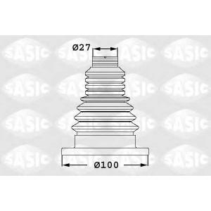 SASIC 1906033 Пыльник шруса