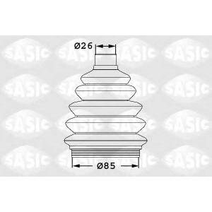SASIC 1906038 Комплект пылника, приводной вал