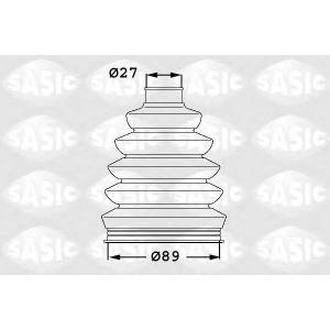 SASIC 1906052 Комплект пылника, приводной вал