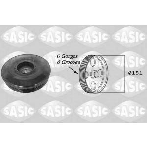 SASIC 2154016 Ременный шкив, коленчатый вал