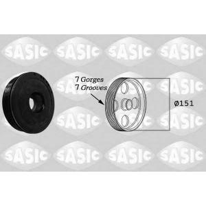 SASIC 2154018 Ременный шкив, коленчатый вал