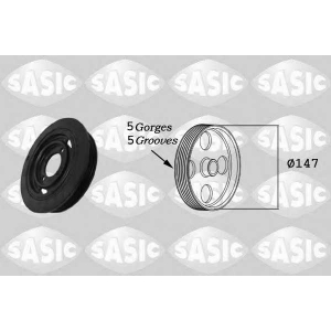 SASIC 2156009 Belt pulley, crankshaft