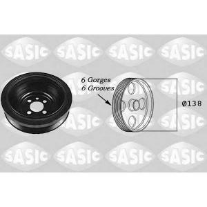 SASIC 2156021 Ременный шкив, коленчатый вал