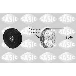 SASIC 2156033 Ременный шкив, коленчатый вал