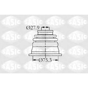 SASIC 4003470 Пыльник шрус (внут.)