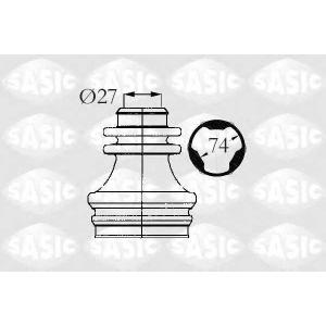 Комплект пылника, приводной вал 4003472 sasic - RENAULT LAGUNA I (B56_, 556_) Наклонная задняя часть 2.0 (B56C/H/N)