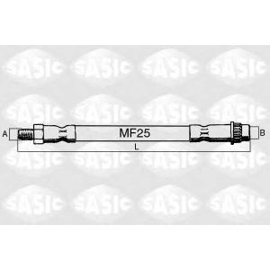 SASIC 6600023 Rubber brake hose
