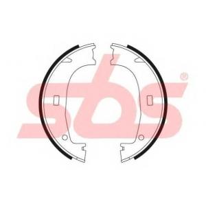 SBS 1849.2715553 Тормозные колодки барабанные, к-кт.