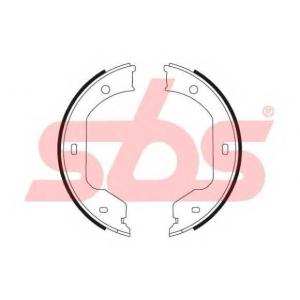 SBS 1849.2715695 Тормозные колодки барабанные, к-кт.