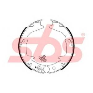 SBS 1849.2730674 Тормозные колодки барабанные, к-кт.