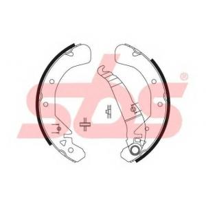 SBS 1849.2736589 Тормозные колодки барабанные, к-кт.