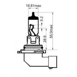 SCT 202990 Лампы накаливания галогенные-sct 202990 (h10 white