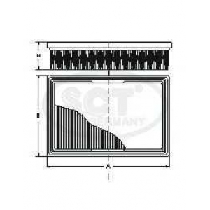 SCT SB2193 Фильтр воздуха