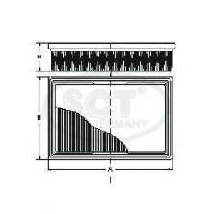 SCT SB2289 Фильтр воздуха