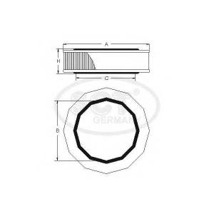 SCT SB570 Фильтр воздуха