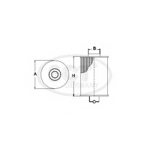 SCT SC7061P Фильтр топлива FORD SC7061P
