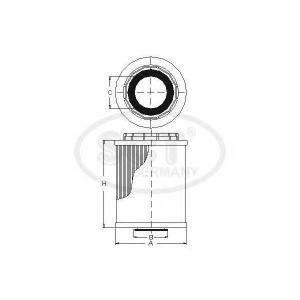 SCT SH427P Фильтр масла