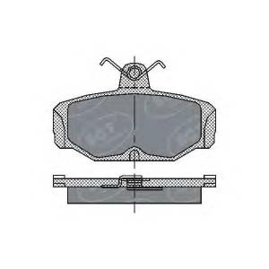 SCT SP161 Колодки торм зад Scorpio 85-94 SP161