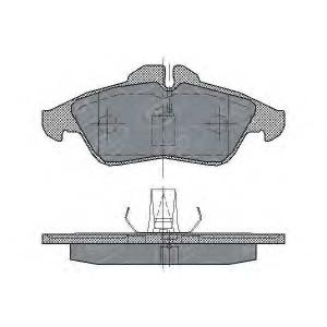 SCT SP177 Колодки торм пер