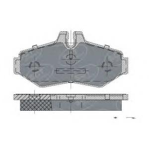 SCT SP233 Колодки торм ЗАД
