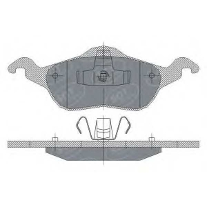 SCT SP237 Колодки торм пер Focus 98-04 SP237