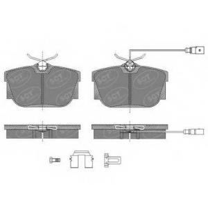 SCT SP484 Колодки торм (с датч!)