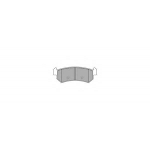 SIMER 1021 АКЦІЯ!!! Гальмівні колодки дискові CHEVROLET (GM) - DAEWOO Lacetti/Nubira/Lacetti/Nubira