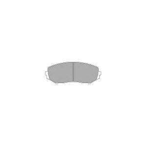 SIMER 1076 АКЦІЯ!!! Гальмівні колодки дискові Suzuki Grand Vitara 05-