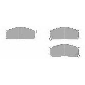 SIMER 445 АКЦІЯ!!! Гальмівні колодки дискові KIA - MAZDA Besta/Bongo/K2500/K2700/Bongo/E2000/E2200