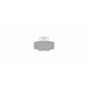 SIMER 526 АКЦІЯ!!! Гальмівні колодки дискові NISSAN Almera/Almera Tino/Primera/Primera Estate/Wagon