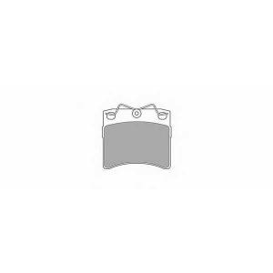 SIMER 561 АКЦІЯ!!! Гальмівні колодки дискові VOLKSWAGEN Campmobile/Caravelle/Multivan/Transporter