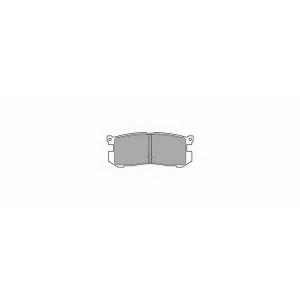SIMER 567 АКЦІЯ!!! Гальмівні колодки дискові FORD (Europe) - MAZDA Probe/626/626 Coupe/626 Estate/Wagon