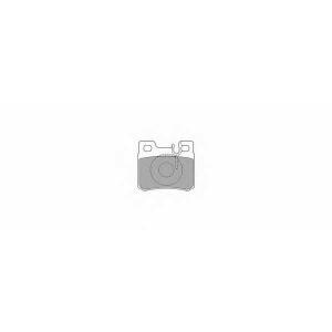 SIMER 618 АКЦІЯ!!! Гальмівні колодки дискові MERCEDES 190/200/220/230/250/260/300/C180/C200/C220/C230/C250/C28