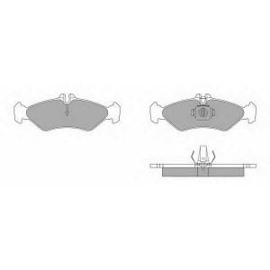 SIMER 689 АКЦІЯ!!! Гальмівні колодки дискові MERCEDES - VOLKSWAGEN Sprinter 208D/Sprinter 210D/Sprinter 211D/S