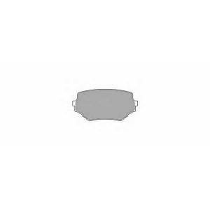 SIMER 697 АКЦІЯ!!! Гальмівні колодки дискові SUZUKI Grand Vitara/Vitara