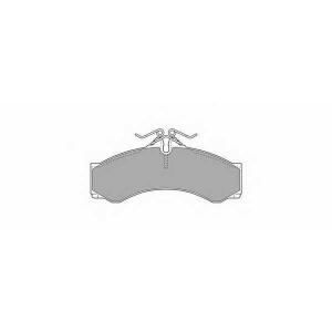 SIMER 706 АКЦІЯ!!! Гальмівні колодки дискові MERCEDES - VOLKSWAGEN Sprinter 311D/Sprinter 314/Sprinter 316D/Sp