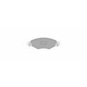 SIMER 722,1 АКЦІЯ!!! Гальмівні колодки дискові PEUGEOT 206/306/306 Cabrio