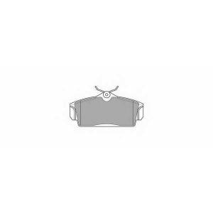 SIMER 726 АКЦІЯ!!! Гальмівні колодки дискові NISSAN Almera/Primera/Primera Estate/Wagon