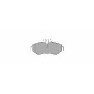 SIMER 754 АКЦІЯ!!! Гальмівні колодки дискові MERCEDES - VOLKSWAGEN G270/G300/G320/G36 AMG/G400/G500/G55 AMG/Sp