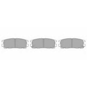 SIMER 804,1 АКЦІЯ!!! Гальмівні колодки дискові ISUZU (GM) - OPEL - VAUXHALL Rodeo/Trooper/Frontera/Monterey/Fron