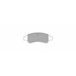 SIMER 808,1 АКЦІЯ!!! Гальмівні колодки дискові CITROEN - PEUGEOT Berlingo/Berlingo MultiSpace/Xsara Picasso/Part