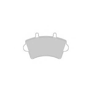 SIMER 816 АКЦІЯ!!! Гальмівні колодки дискові NISSAN - OPEL - RENAULT - VAUXHALL Interstar/Movano/Master T28/Ma