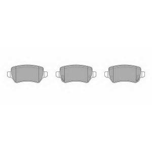 SIMER 829 АКЦІЯ!!! Гальмівні колодки дискові OPEL - VAUXHALL Astra/Astra Cabrio/Astra Coupe/Astra Van/Meriva/T